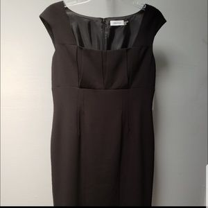Calvin Klein Black Dress New with Tags Large 10